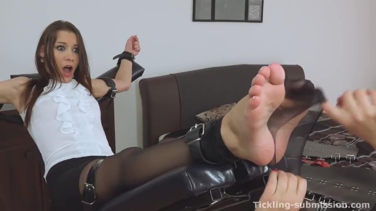 Ticklish asian feet