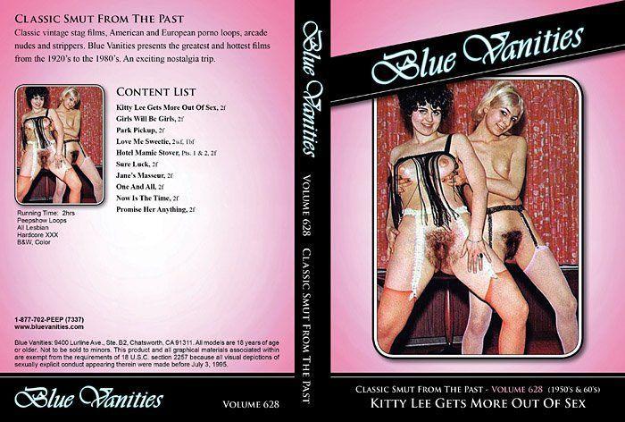 Blue vanities vintage