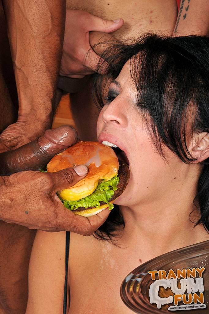 Hammer reccomend eating burger