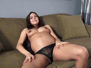 Senior reccomend female belly stuffing