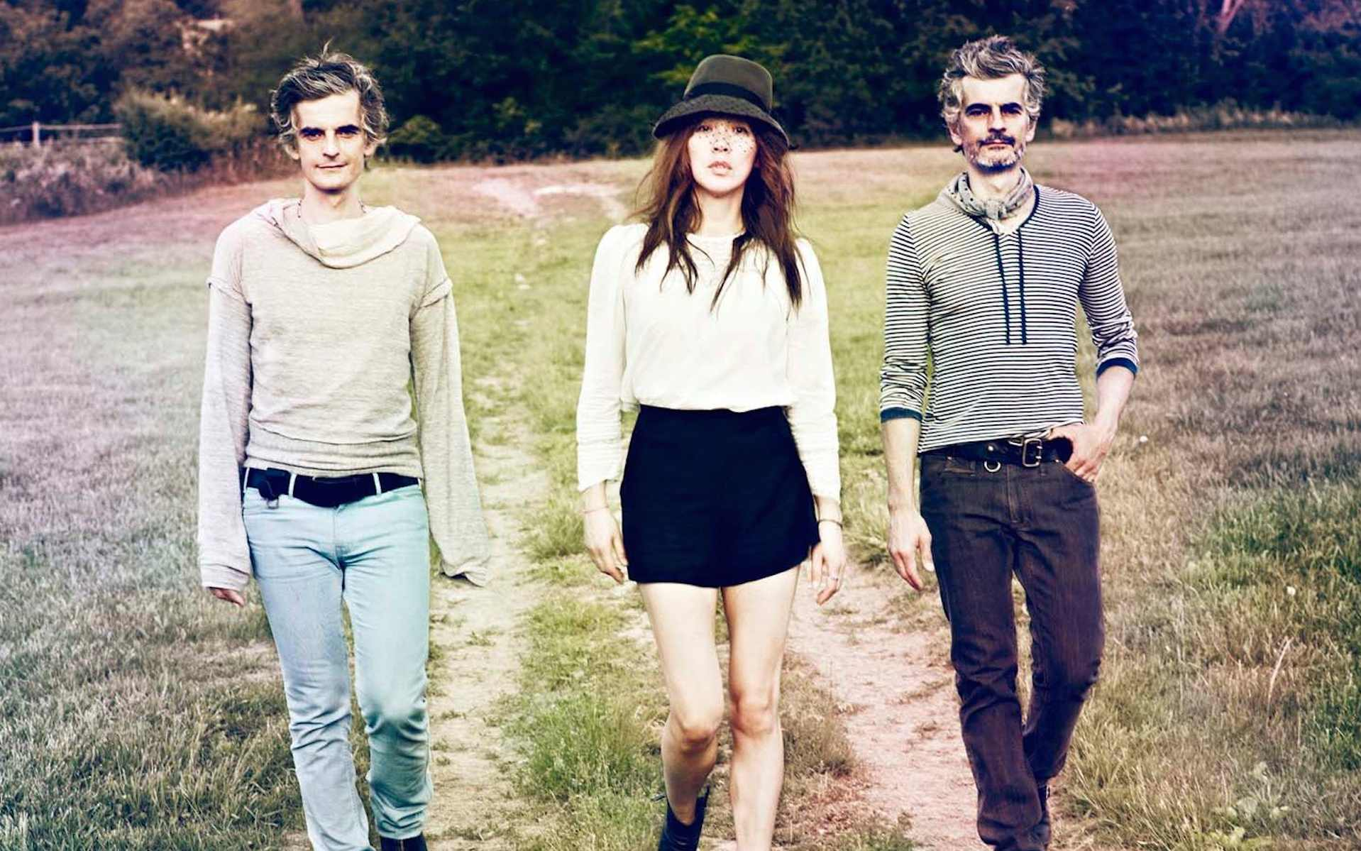 Uhura reccomend Blonde redhead band members