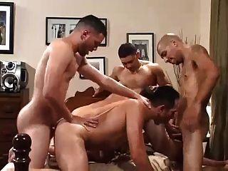 Gay gangbang clips