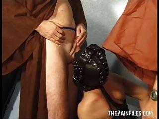 Mature sex leather mask clips