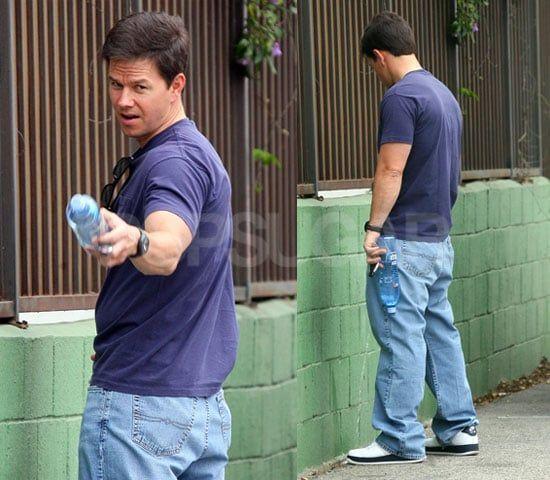 Celebrities caught peeing