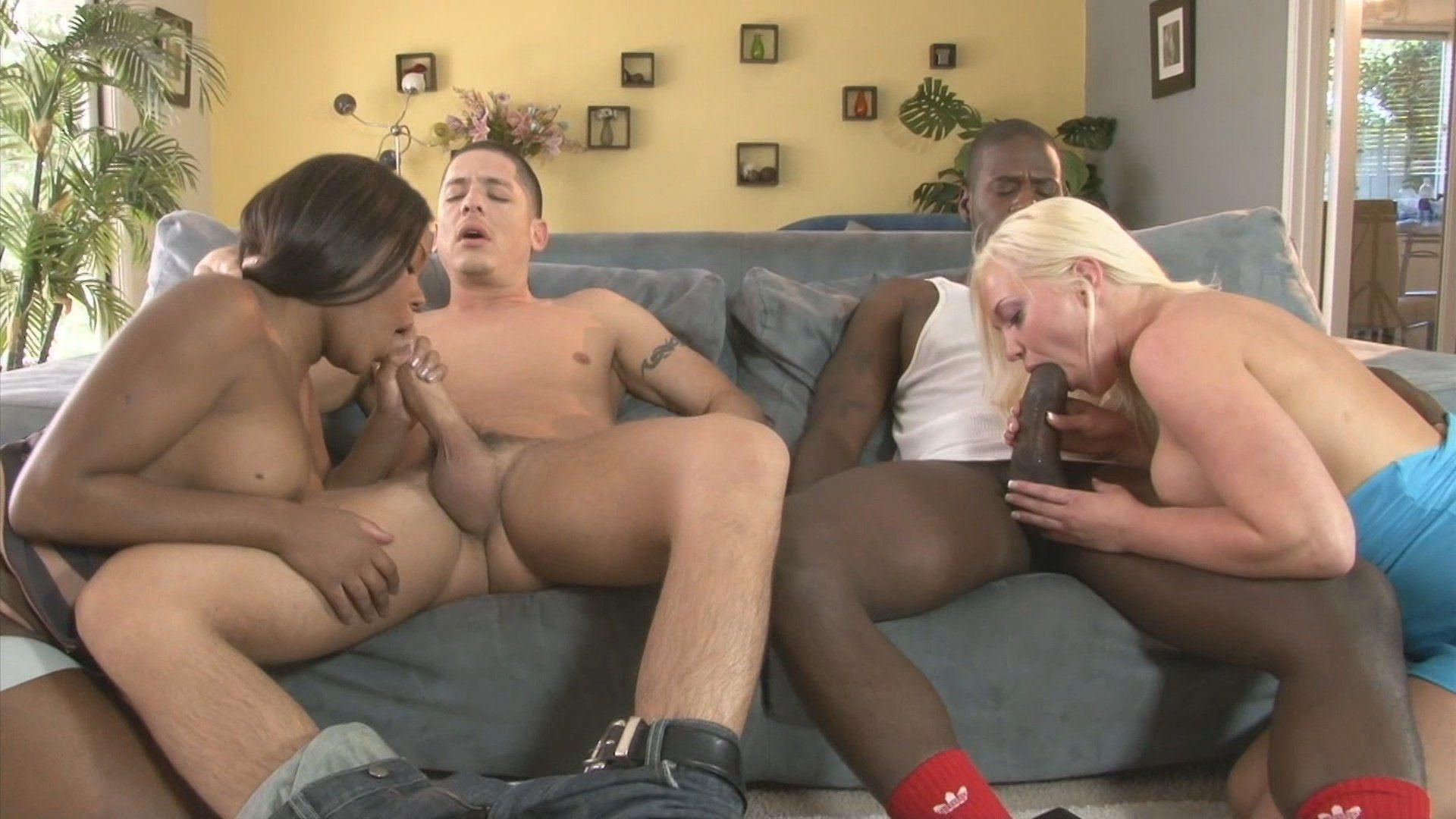 Interracial swingers tubes