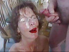 Porn mature facial