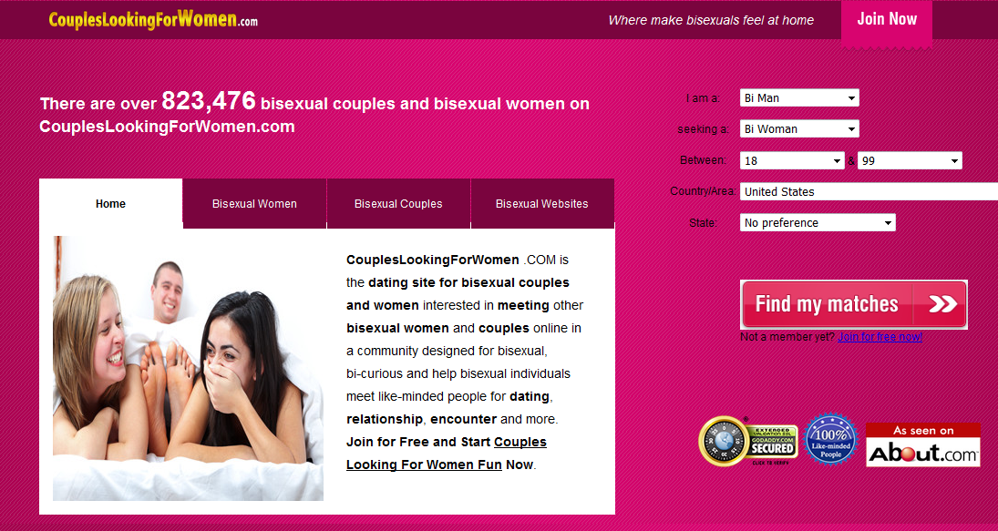 Free websites for bisexual women