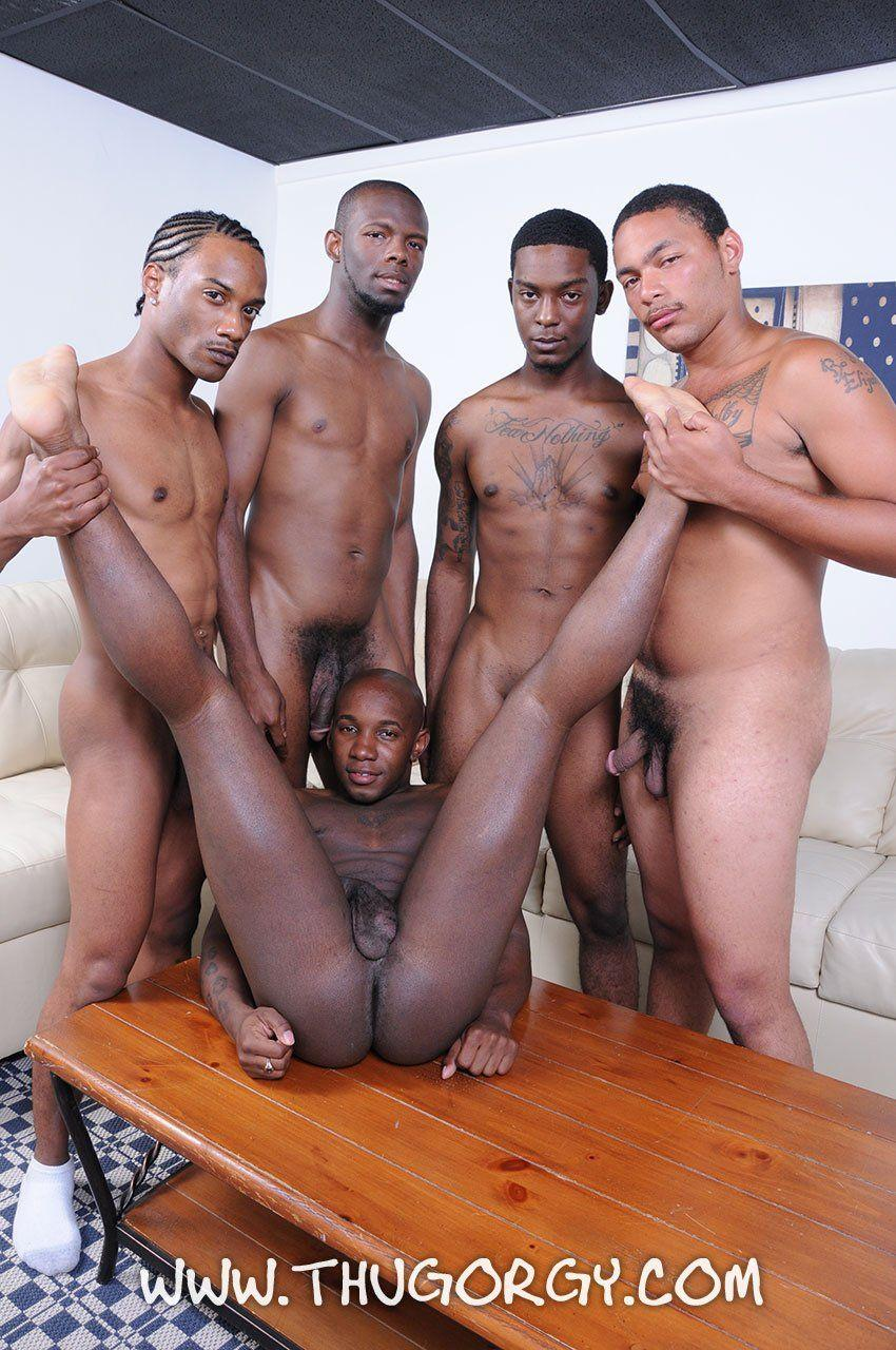 Black gay orgy videos