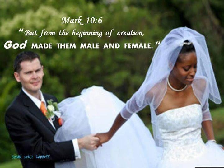 Biblical thoughts on interracial marriage