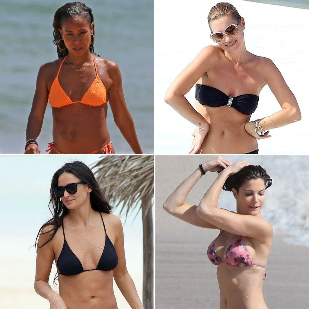 best of Five in Bikini seconds to nude