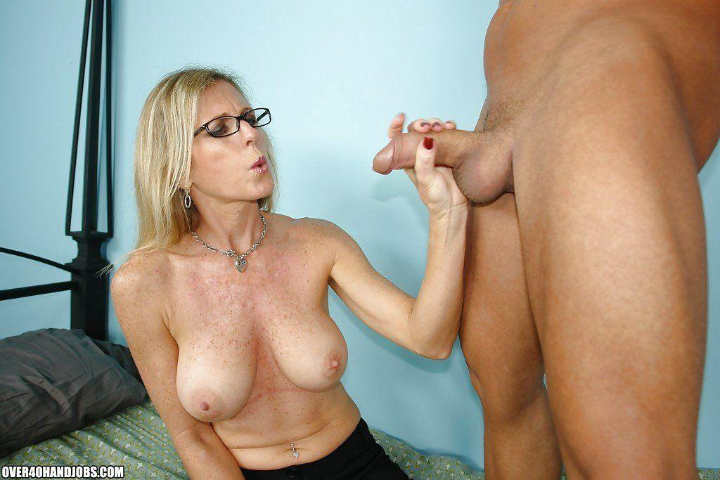 Nude older skinny mature wife