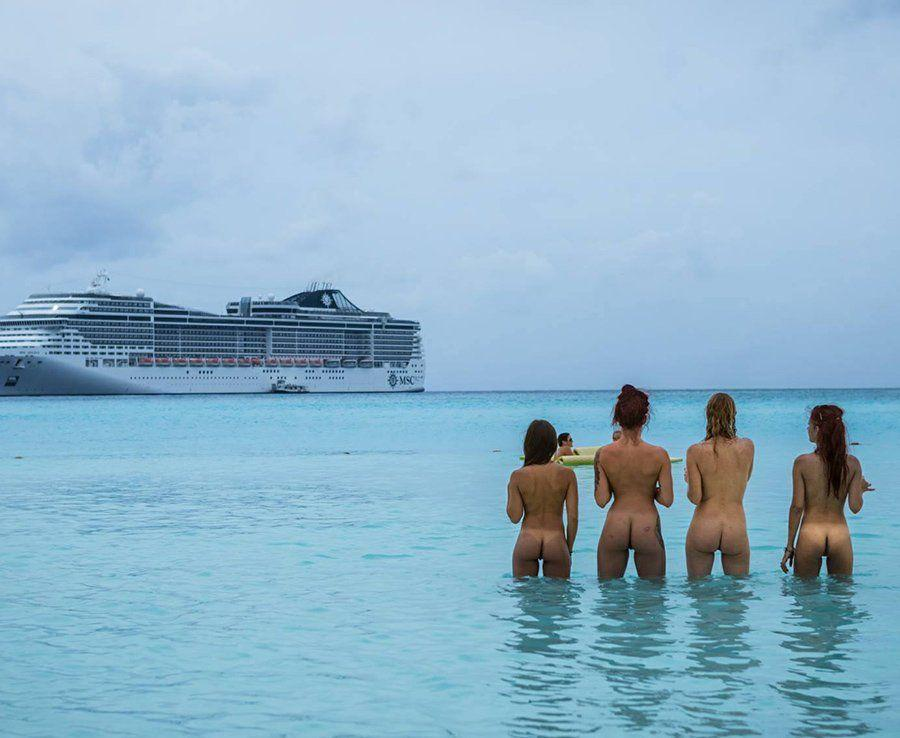 topless carnival cruise