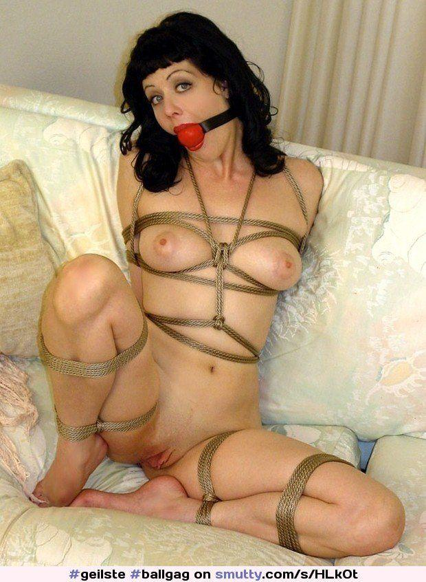 Slut bondage gagged
