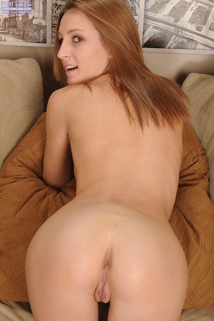 Redhead and masturbate and video