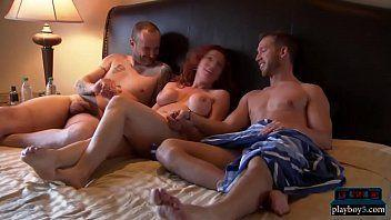first Married threesome couples