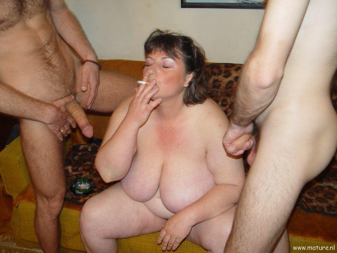 Plumper threesomes mature