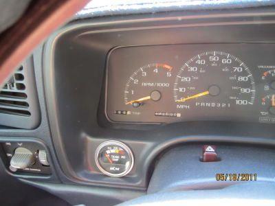 Chevy suburban tranny gauge