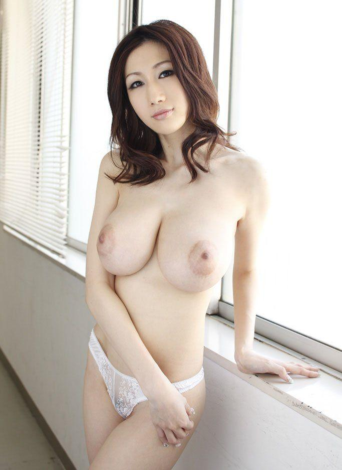 Japanese girl with big boobs real