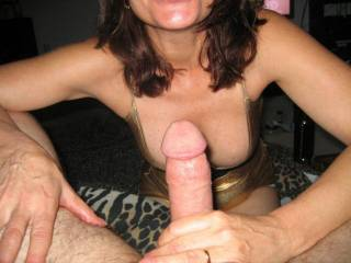 best of Cock his between Wife us
