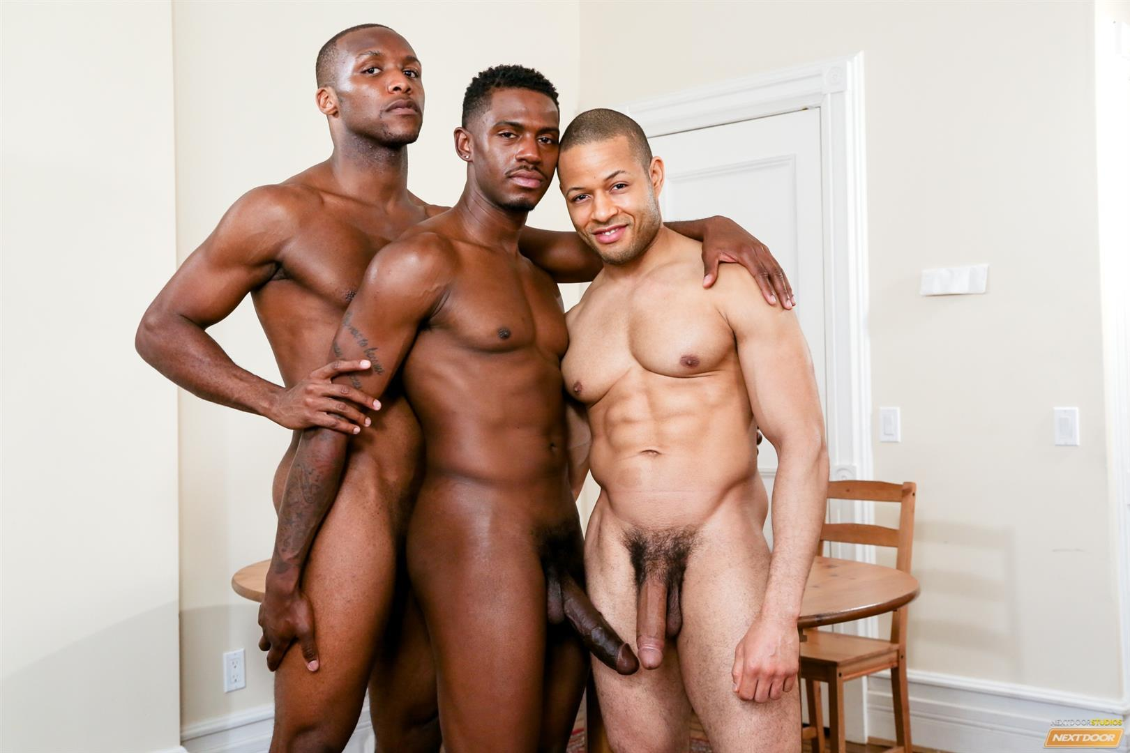 Three weird gay dudes banging in threesome 3