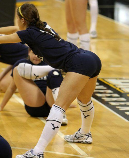 Sundance K. reccomend Sexy redhead pigtail volleyball