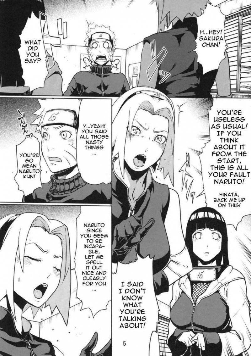 Doujinshi Naruto hentai