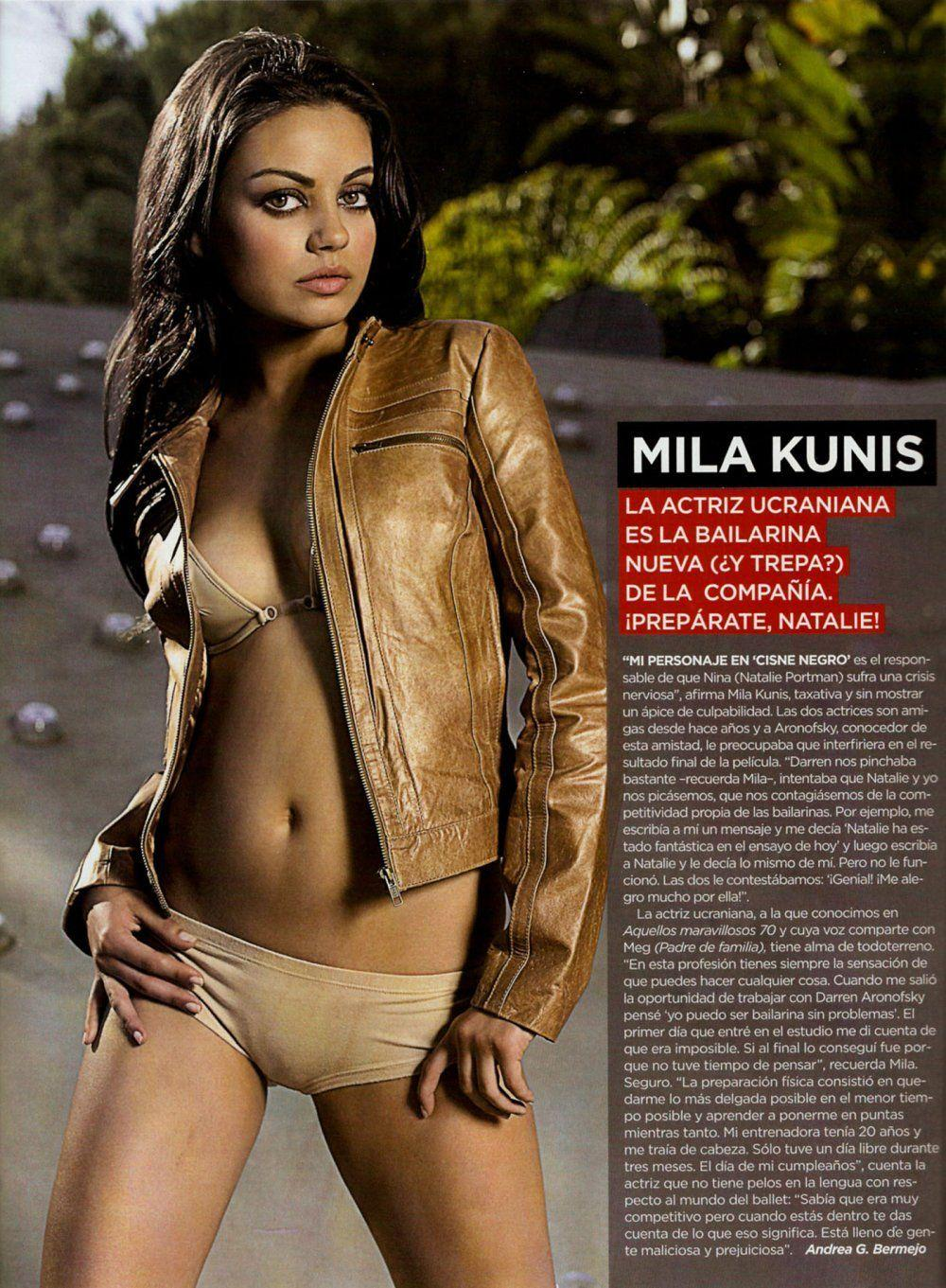 Mila kunis is a stupid cunt picture 306