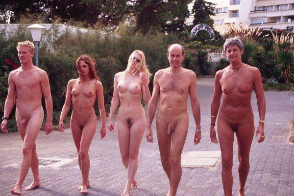 Group beach nudist pictures