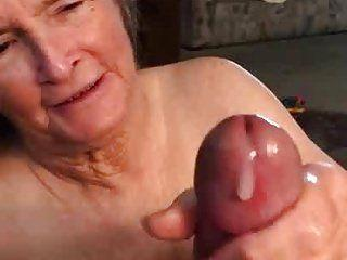 best of Video Granny hand job free