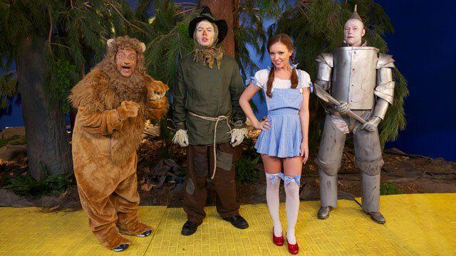 The Wizard of oz porn version opinion you