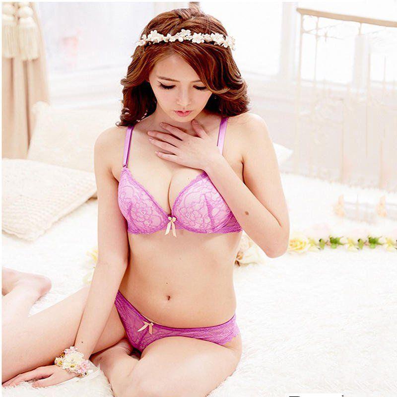 Pink panties girl asian