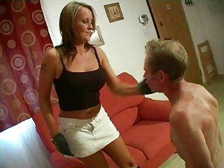 Porn captions slave mom