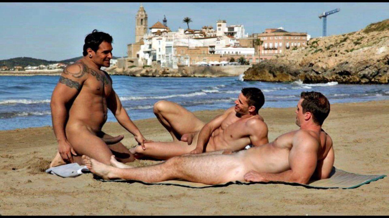 Gay beach sex tube