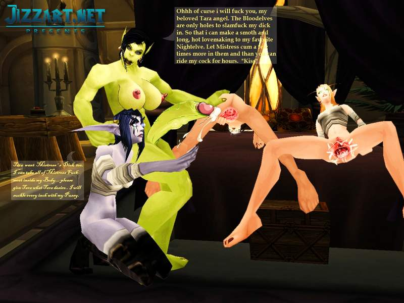 World of warcraft hentai photo manipulations