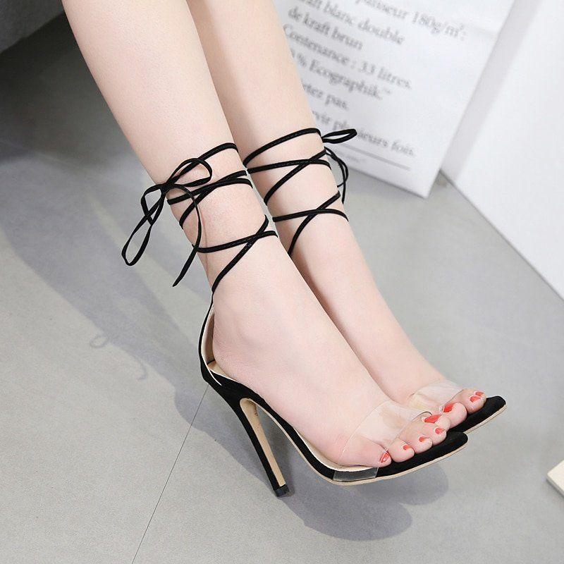 Damaged high heels fetish