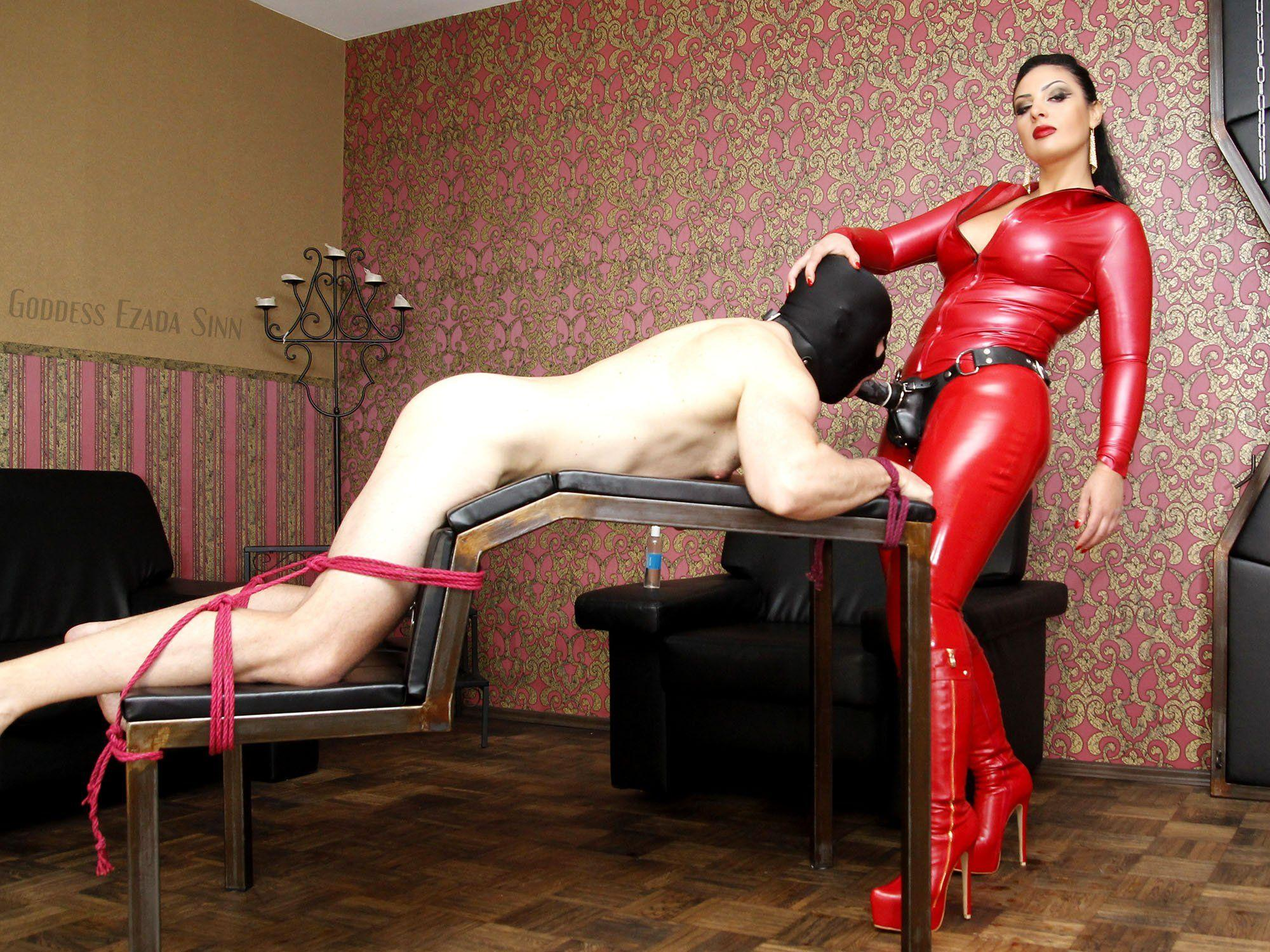 Library female domination bdsm