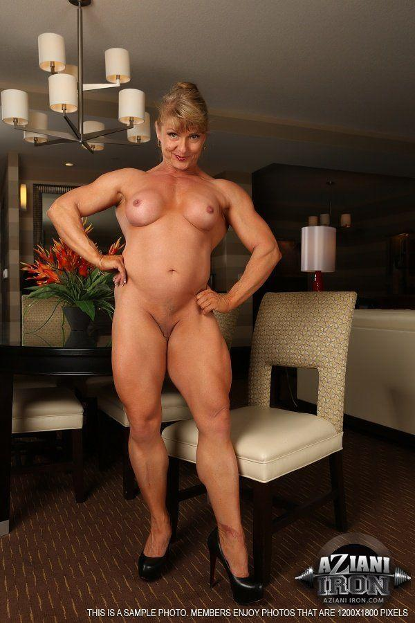 Female bodybuilders nude redhead
