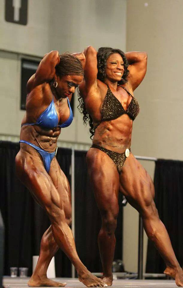 That Female bodybuilders who spank think