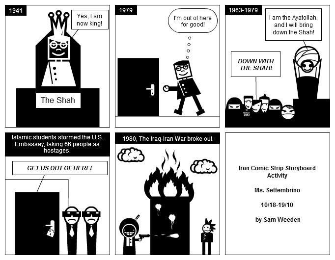 Sunburst reccomend Comic strip storyboard