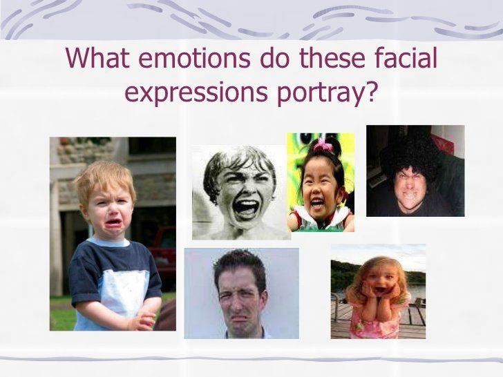 Stats on facial expressions of nvc