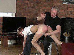 Videos of men getting spanked