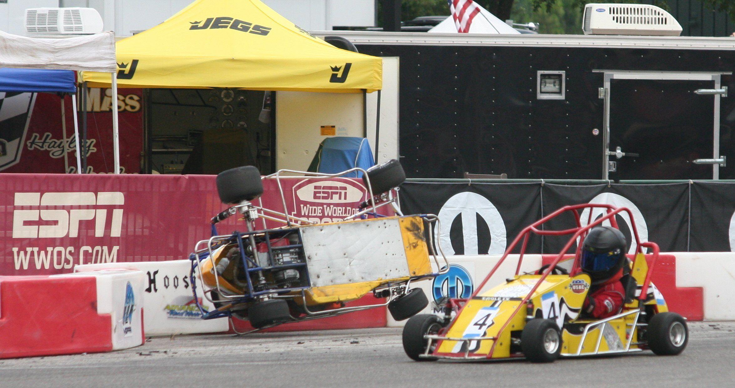 In car quarter hawaii midget race