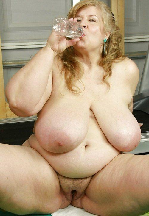 But chubby huge tit mature