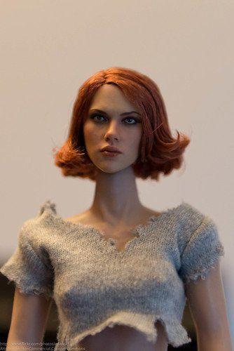 Hot redhead toy