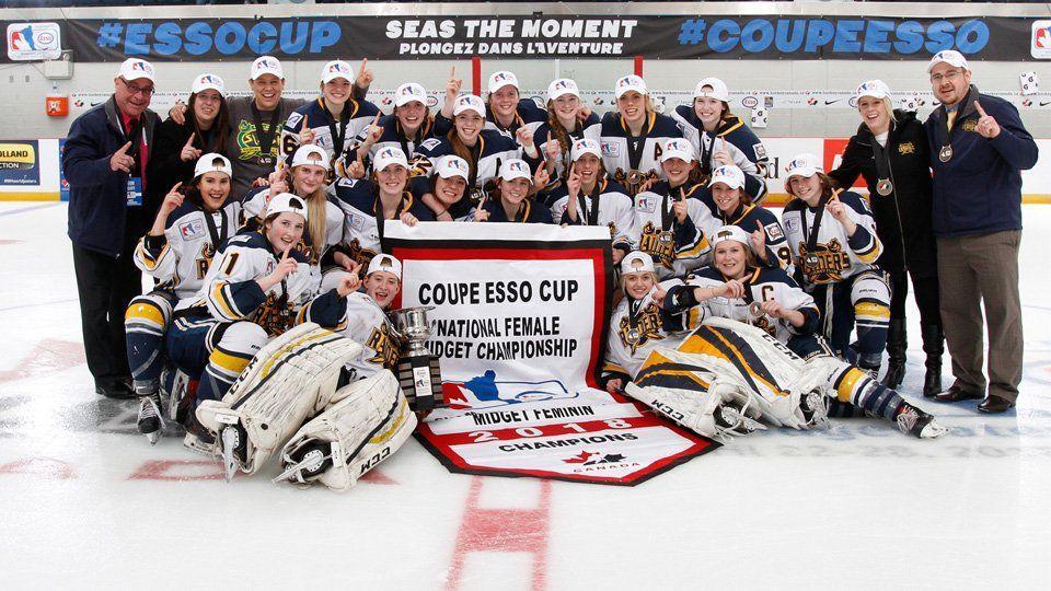 best of Midget hockey women Sask ice