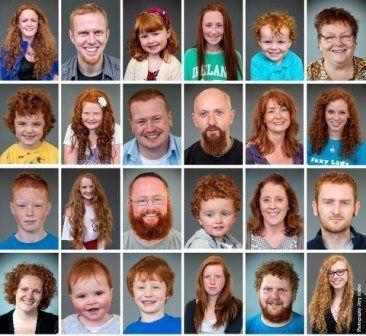 Mets irish redhead