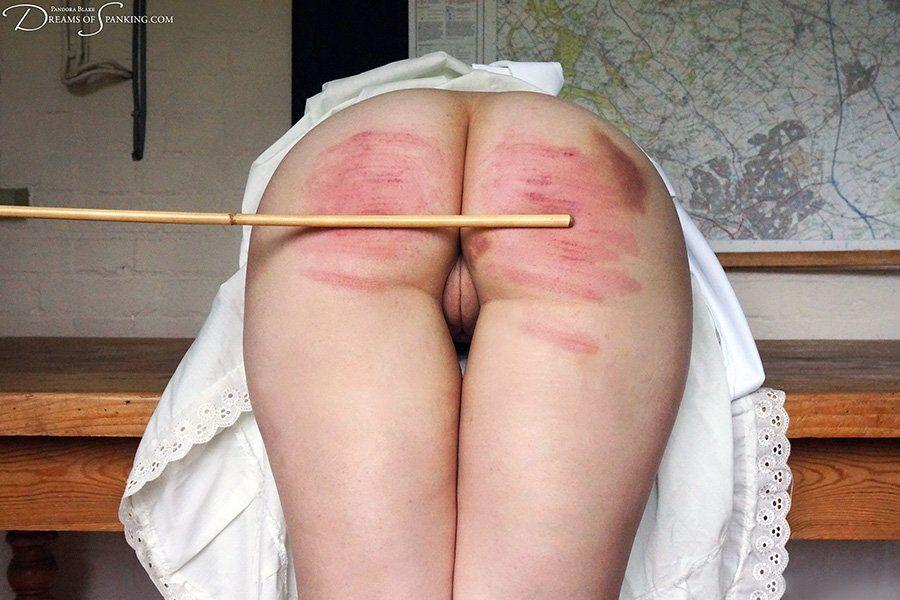 Uncle cotton pants spank butt ass