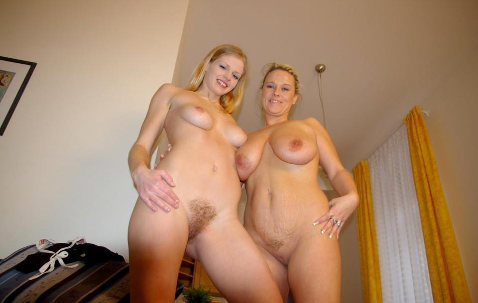 And daughter mums naked