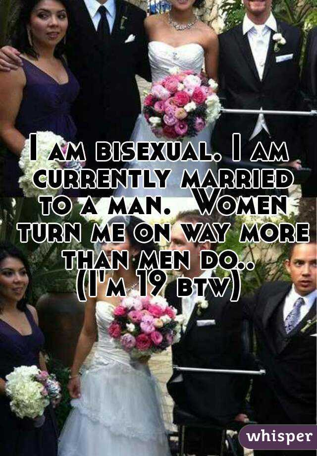 The T. reccomend Bisexual men in marriage