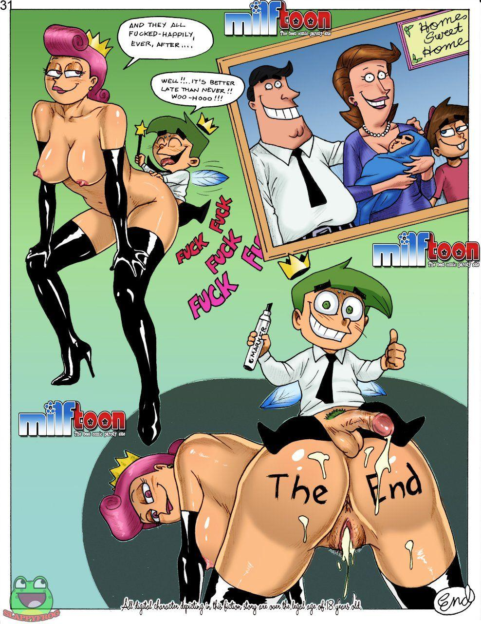Fairly odd parents showing pussy